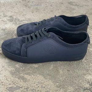 Chanel Men's Low Top Navy Sneaker